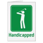 Golf - perjudicado felicitación
