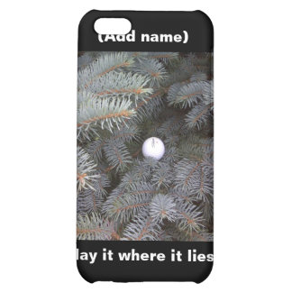 Golf Peronalized iPhone Case Case For iPhone 5C