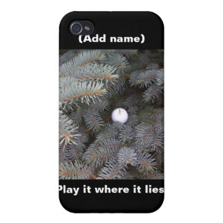 Golf Peronalized iPhone Case Covers For iPhone 4