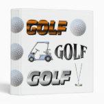 Golf Photo Binder