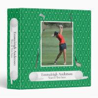 Golf Photo Green Binder