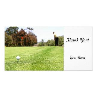 Golf Custom Photo Card