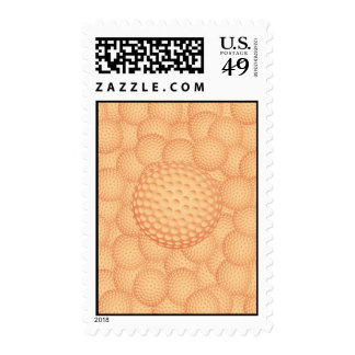 golf pile postage stamps