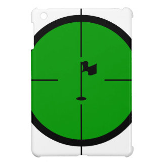 Golf Pin in the Crosshairs iPad Mini Case