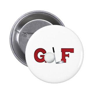 Golf Pin Redondo De 2 Pulgadas