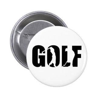 Golf Pinback Button