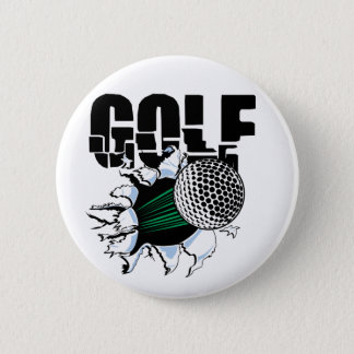 GOLF PINBACK BUTTON