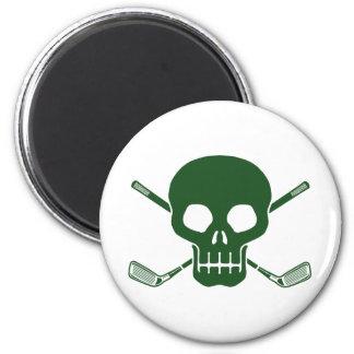 Golf Pirate 2 Inch Round Magnet