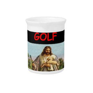 golf beverage pitcher