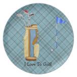 Golf Plates