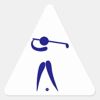 golf player stickers zazzle. Black Bedroom Furniture Sets. Home Design Ideas
