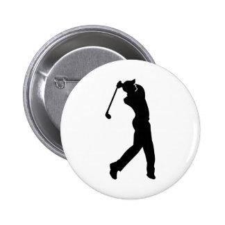 Golf Player Button