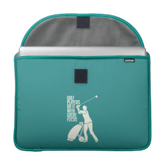 "GOLF PLAYER custom 15"" MacBook sleeve"