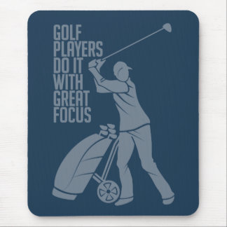 GOLF PLAYER custom mousepad
