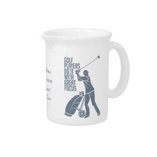 GOLF PLAYER custom pitcher