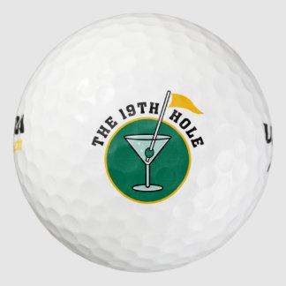 Golf Player Golfing Gift Idea 19th Hole Golf Humor Golf Balls