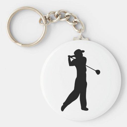 golf player keychains