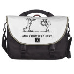 Golf player - Like a Boss Laptop Messenger Bag