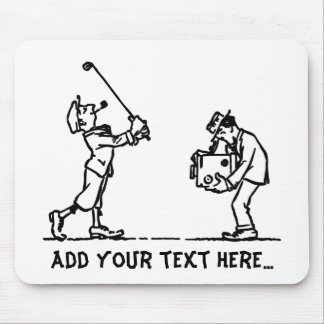 Golf player - Like a Boss Mouse Pad