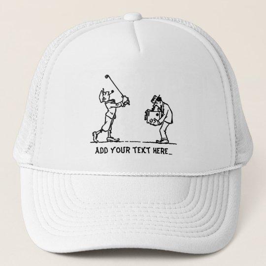 Golf player - Like a Boss Trucker Hat
