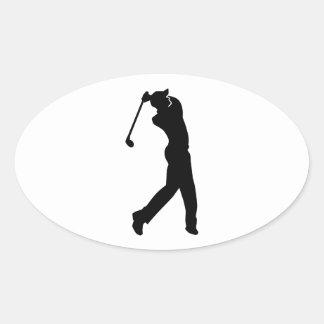 Golf Player Stickers