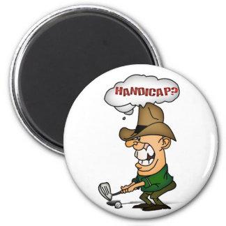 Golf Players Shirts Handicap golfers shirts Magnet