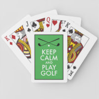 Golf Playing Cards