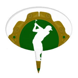 Golf png irlandés decoración para tarta