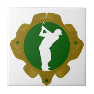 Golf png irlandés teja cerámica