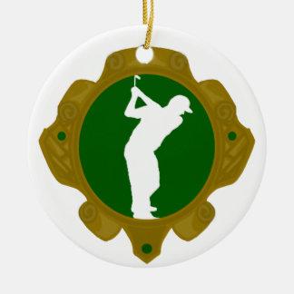 Golf png irlandés adornos de navidad