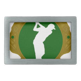 Golf png irlandés hebilla cinturon rectangular