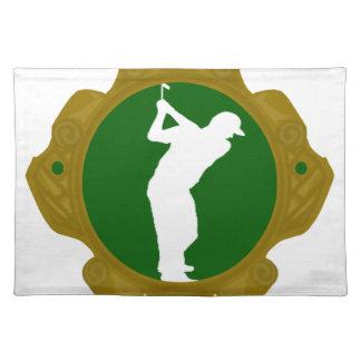 Golf png irlandés mantel individual