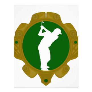 Golf png irlandés plantilla de membrete