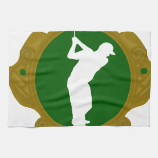 Golf png irlandés toallas de cocina