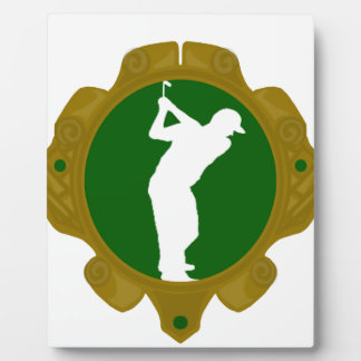 Golf png irlandés placa de plastico