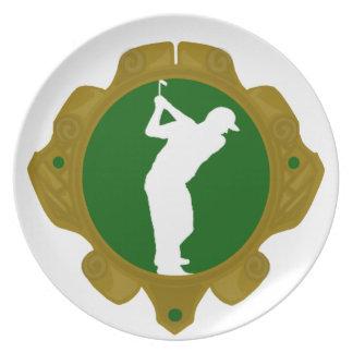 Golf png irlandés platos para fiestas