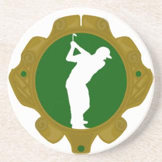 Golf png irlandés posavasos personalizados