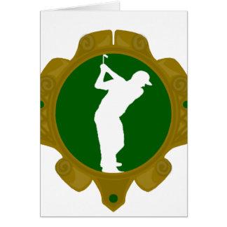 Golf png irlandés tarjeta