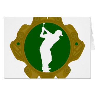Golf png irlandés tarjeton