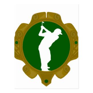Golf png irlandés postales