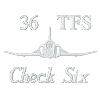 Golf Polo W/F-16 and Call Sign (White Only)
