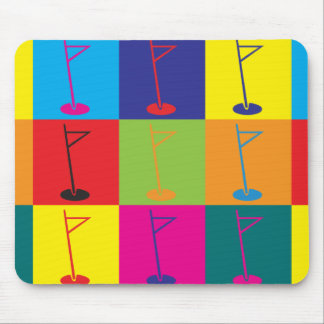 Golf Pop Art Mouse Pad