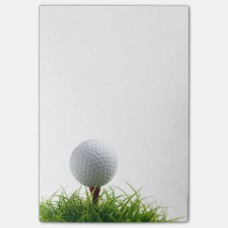 Golf post it note