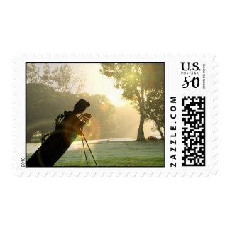 Golf Postage Stamp