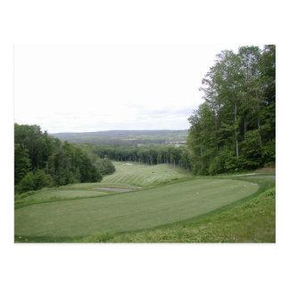 Golf Post Card