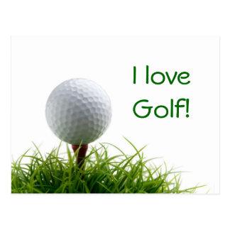 Golf Postcards