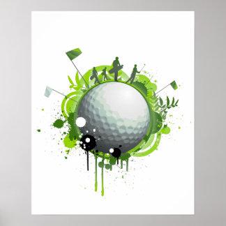 Golf Póster