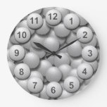 Golf Practice Ball Bucket. Clocks