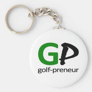Golf Preneur Brand of Golf Gifts Keychain