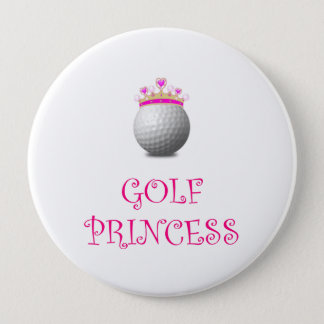 Golf Princess Pinback Button
